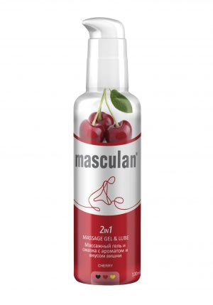 Massage gel & Lube Cherry