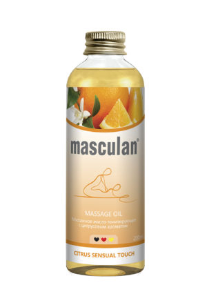 Миниатюра Massage oil Citrus sensual touch