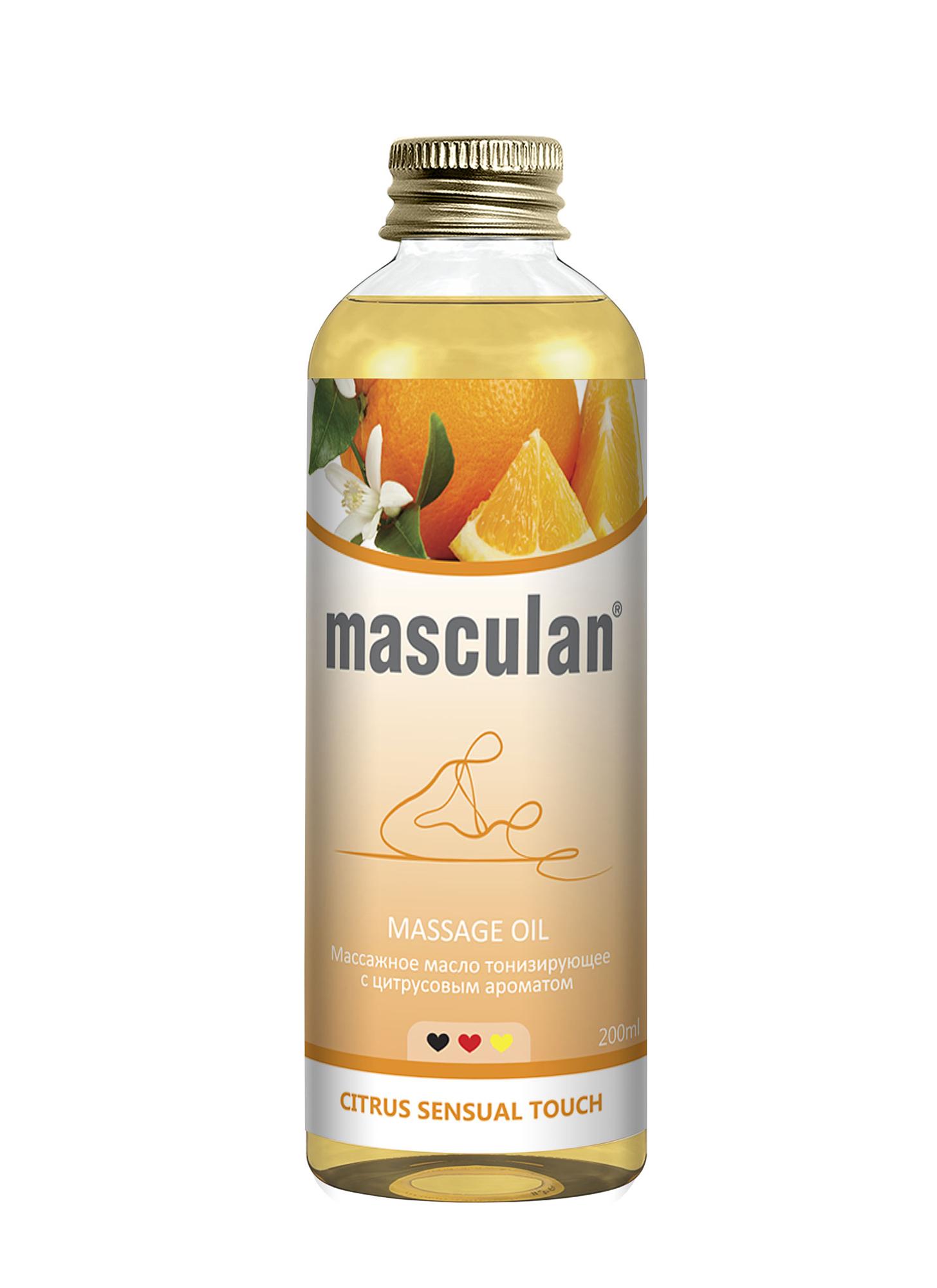Massage oil Citrus sensual touch