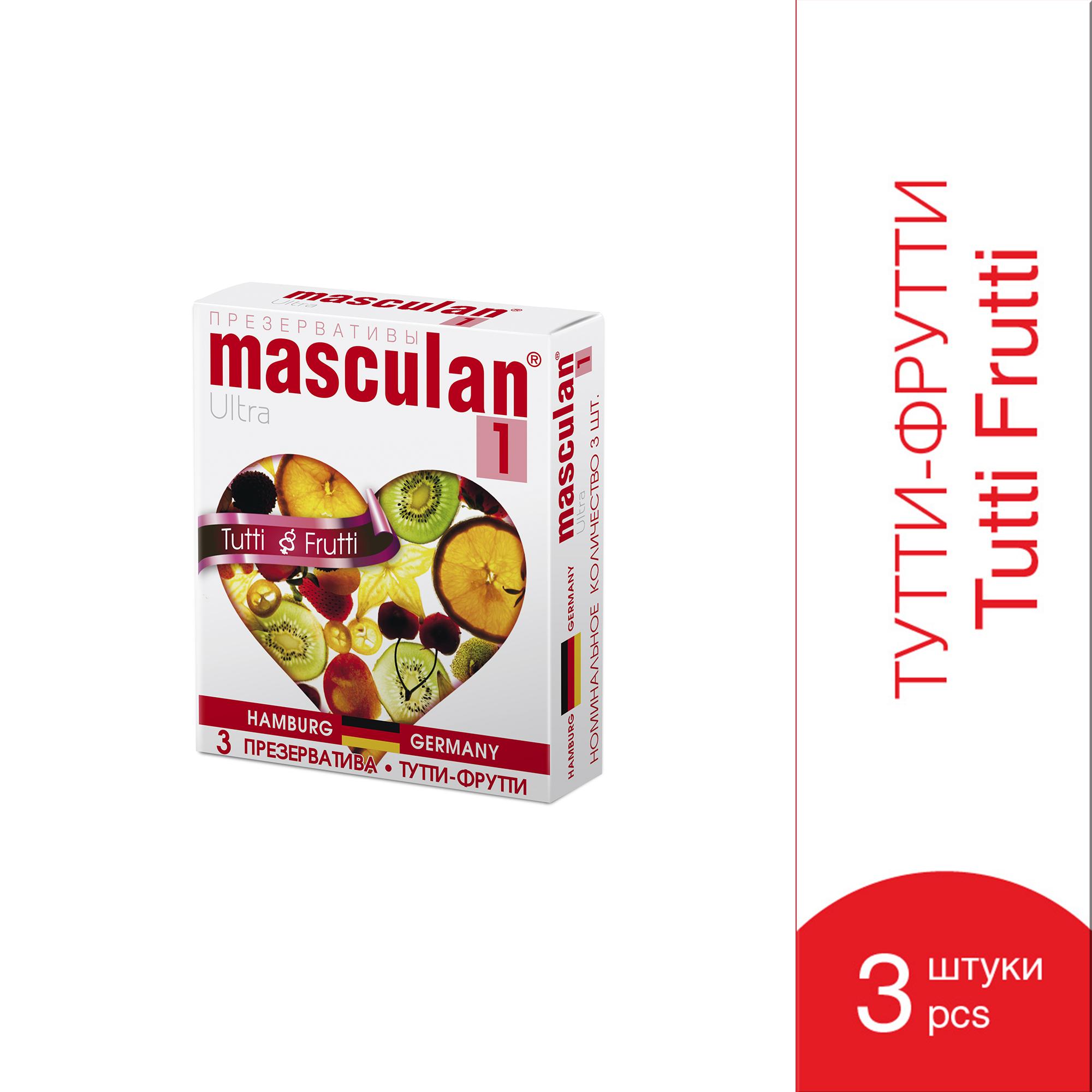 презервативы-маскулан-ультра-тип1-тутти-фрутти-3шт