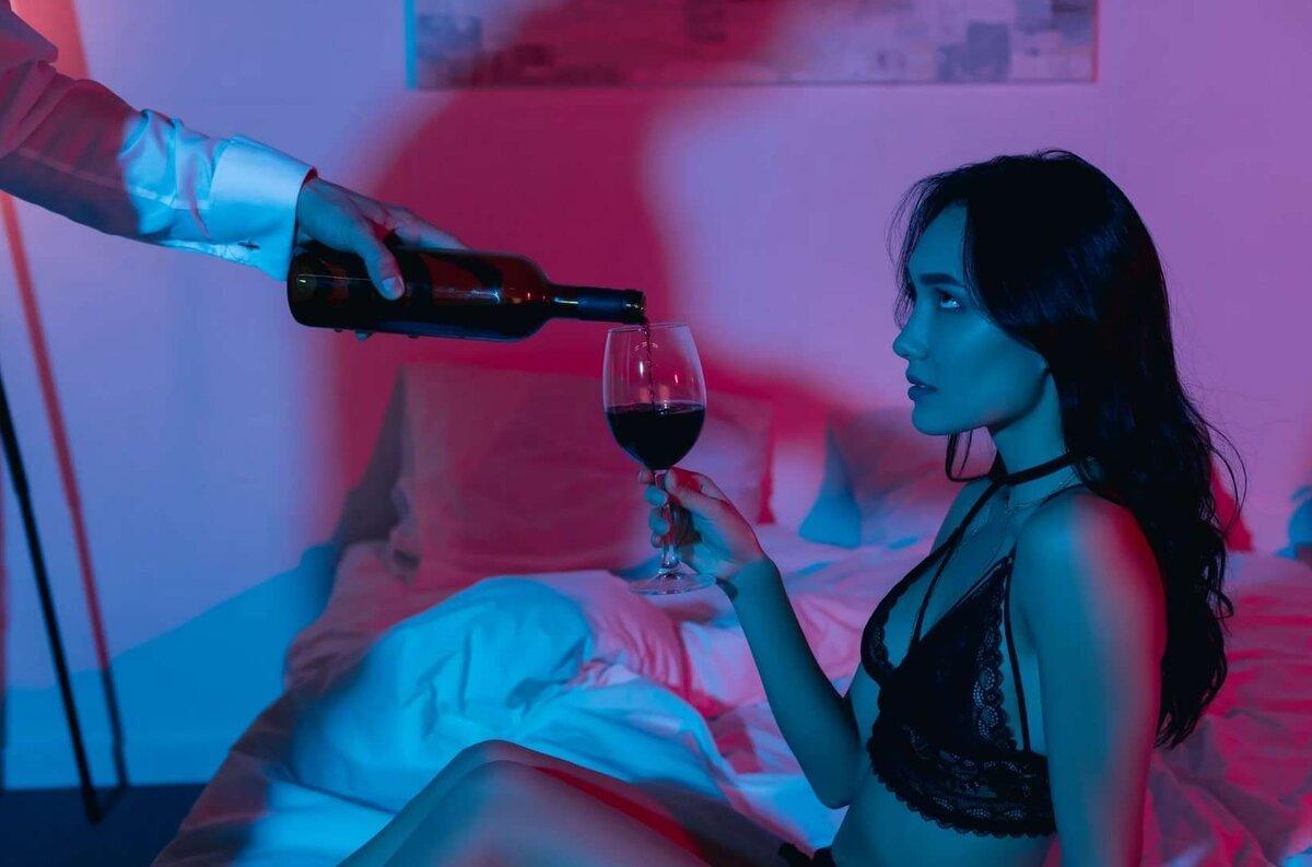 секс после принятия алкоголя